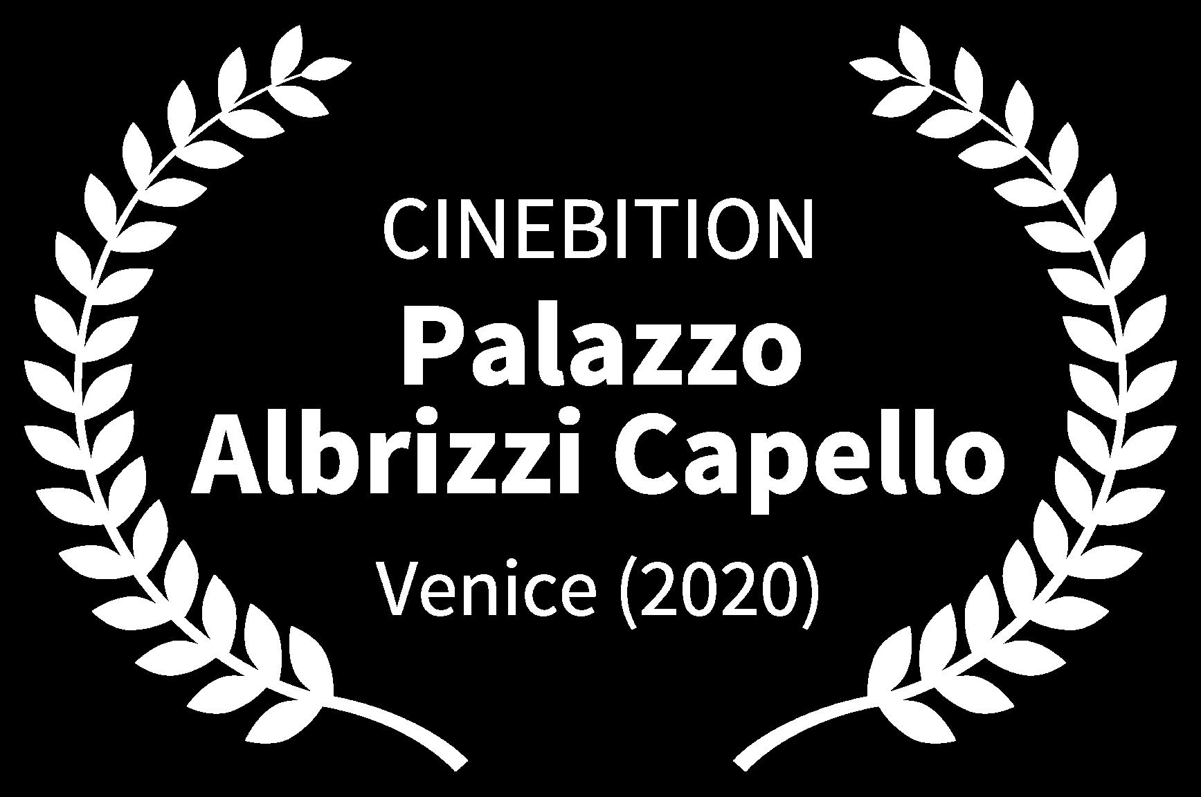 CINEBITION - Palazzo Albrizzi Capello - Venice 2020