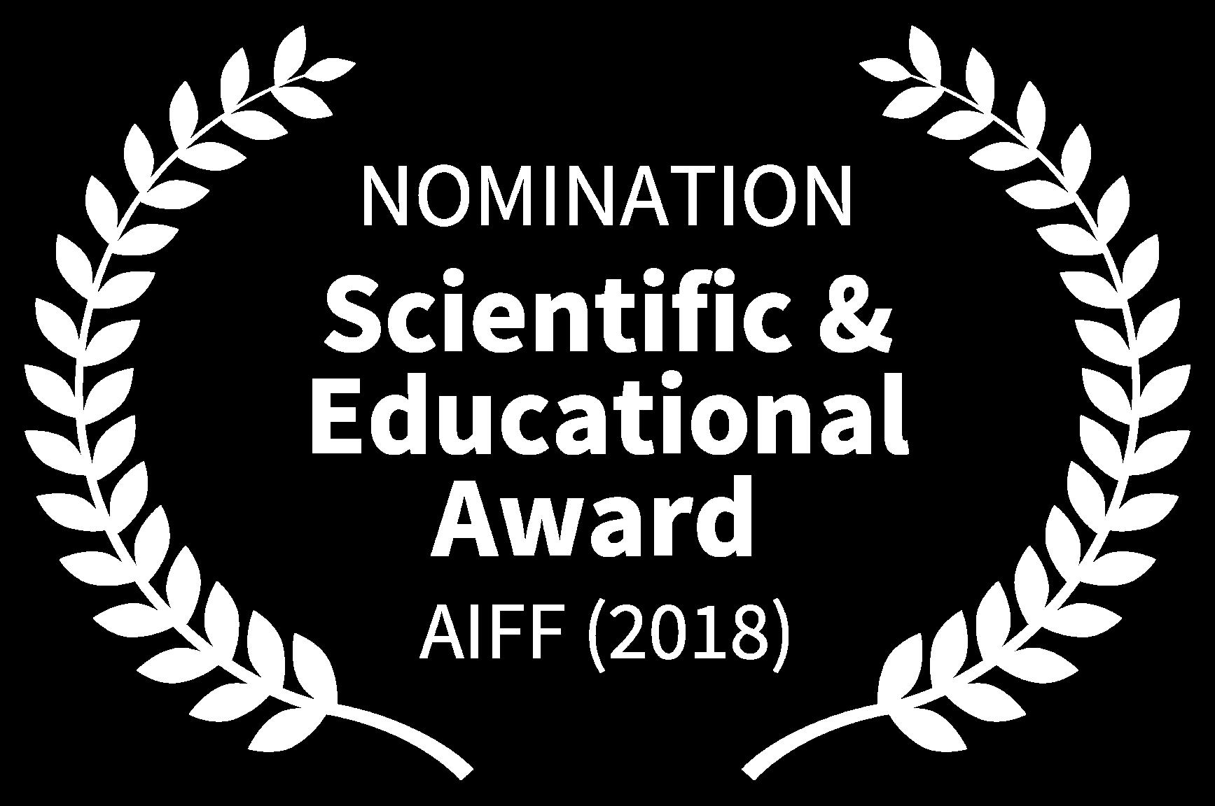 NOMINATION - Scientific Educational Award - AIFF 2018