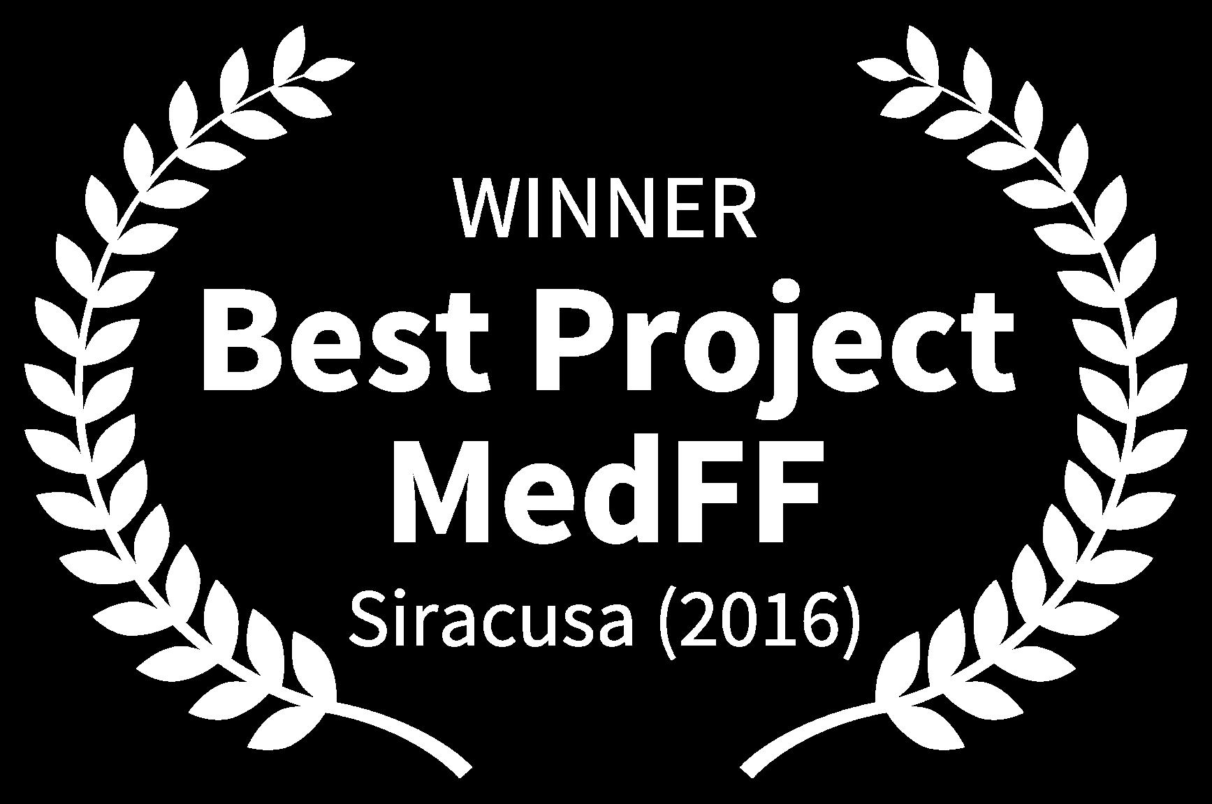 WINNER - Best Project MedFF - Siracusa 2016